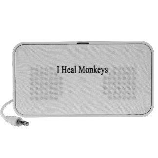 I Heal Monkeys iPod Speakers