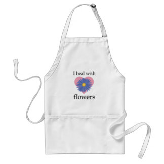I Heal with Flowers Standard Apron