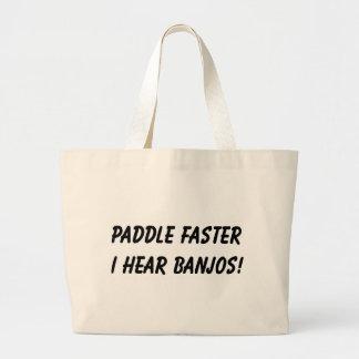 I HEAR BANJOS! TOTE BAG