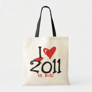 I heart 2011 a lot - Senior Class of 2011 Tote Bag