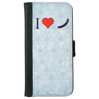 I Heart A Decent Sized Meal iPhone 6 Wallet Case