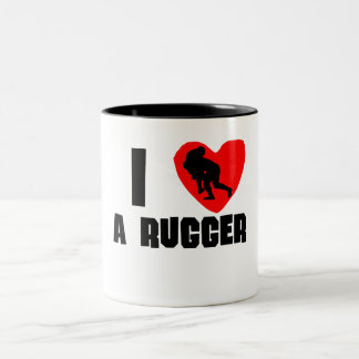I Heart A Rugger Mug