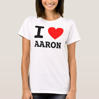 I Heart Aaron Shirt
