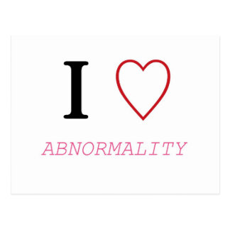 I Heart ABNORMALITY Post Card