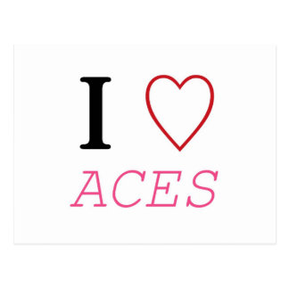 I Heart ACES Post Cards