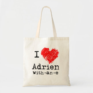 I heart Adrien-with-an-e bag