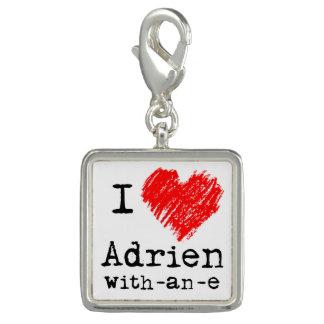 I heart Adrien-with-an-e charm