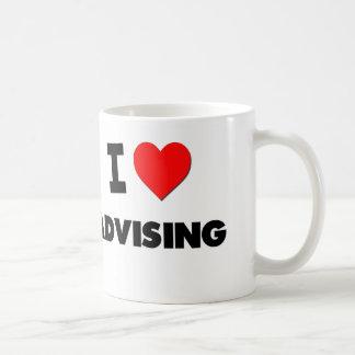 I Heart Advising Mug