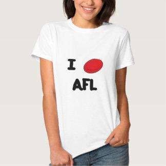 I heart AFL T-shirts