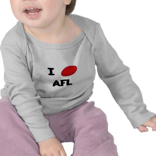 I heart AFL Tee Shirts