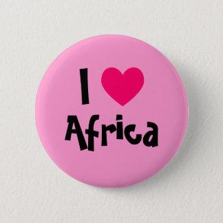I Heart Africa 6 Cm Round Badge