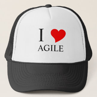 I Heart AGILE Trucker Hat