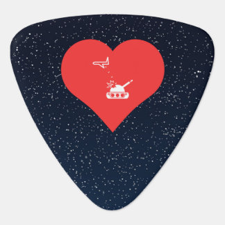 I Heart Air Force Icon Guitar Pick