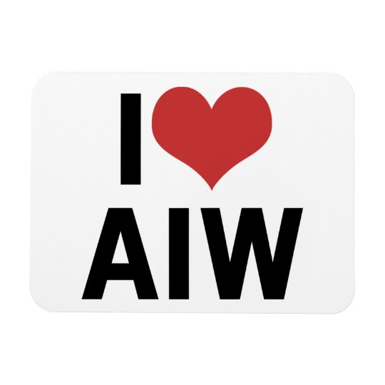 I Heart AIW Magnet