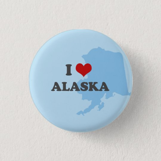 I heart alaska button
