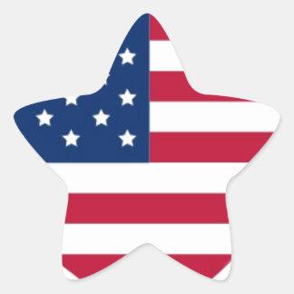 I Heart America Star Sticker