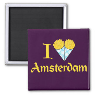I Heart Amsterdam Magnet