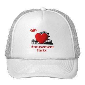 I Heart Amusement Parks Cap