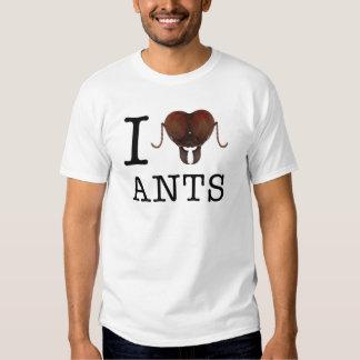 I heart ants t-shirts