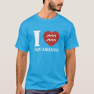 I Heart Aquarians T-Shirt