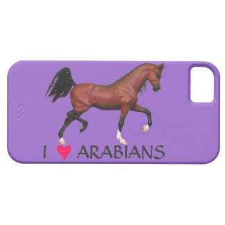 I Heart Arabians Bay Horse Art iPhone 5 Case