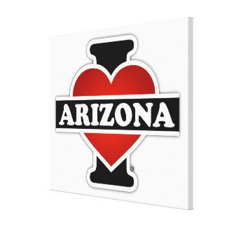 I Heart Arizona Canvas Print