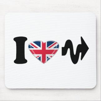 I Heart Arrow Him/Her Fun Design Mouse Pad