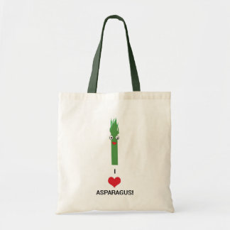 I Heart Asparagus tote bag