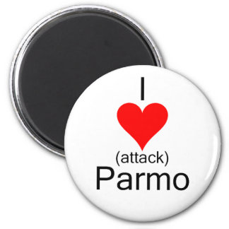 I Heart Attack Parmo Magnet