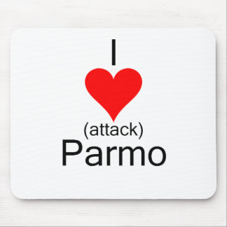 I Heart Attack Parmo Mouse Mat