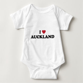 I Heart Auckland New Zealand Products Baby Bodysuit