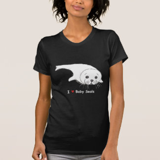 I Heart Baby Seals Shirts