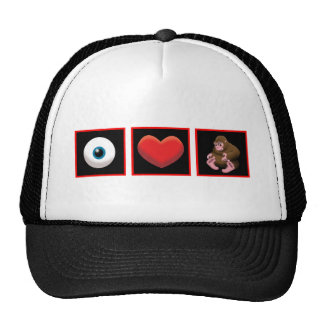 I HEART BABY SQUATCH HAT