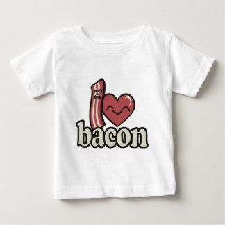 I Heart Bacon Baby T-Shirt