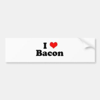 I Heart Bacon Bumper Sticker