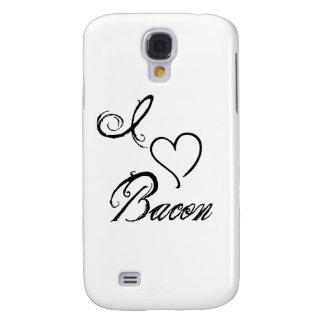 I Heart Bacon Galaxy S4 Case