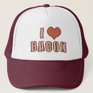 I Heart Bacon Hat 001