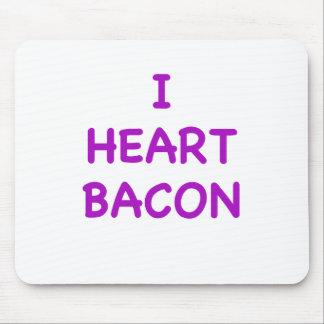 I Heart Bacon Mousepads