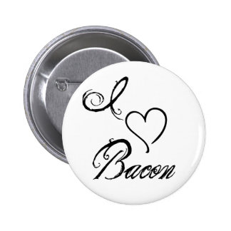 I Heart Bacon Pinback Buttons