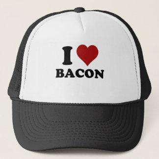 I HEART BACON TRUCKER HAT