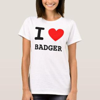 I Heart Badger Shirt