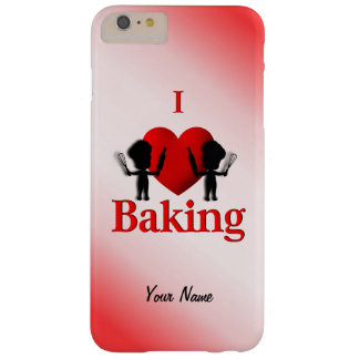 I Heart Baking Baker Barely There iPhone 6 Plus Case