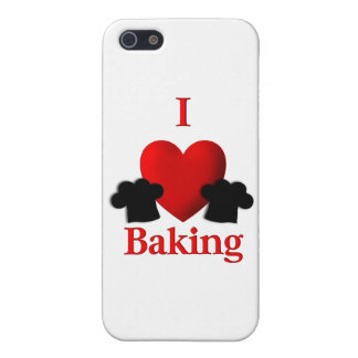 I Heart Baking iPhone 5 Cases