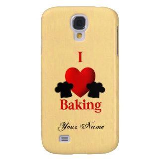 I Heart Baking Personal Galaxy S4 Case