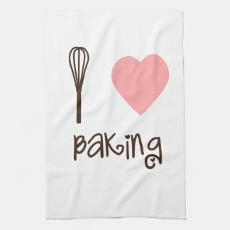 I Heart Baking Tea Towel
