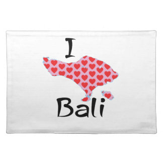 I heart Bali Placemat