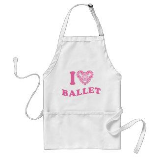 I Heart Ballet Standard Apron
