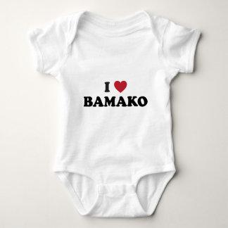 I Heart Bamako Mali Baby Bodysuit