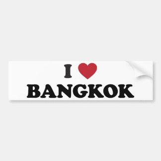 I Heart Bangkok Thailand Bumper Sticker
