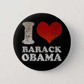 I heart Barack Obama button